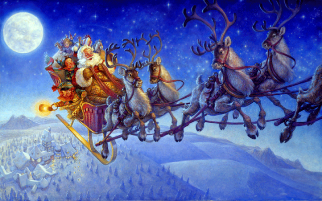 """""""Merry Christmas to all, and to all a good night!"""""""